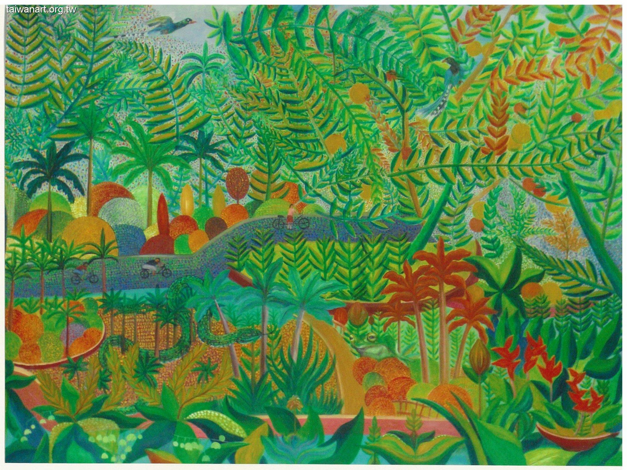 爱护森林保护森林的画-一年级保护环境的画_儿童画保护森林怎么画图片